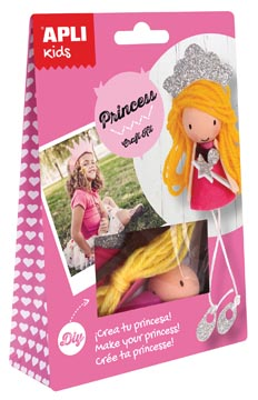APLI KIDS CRAFT KIT PRINSES