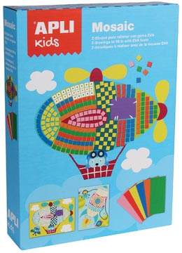 APLI KIDS MOZAIEK KIT AUTO 2X