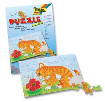 BLANCOPUZZEL A4 48DELIG