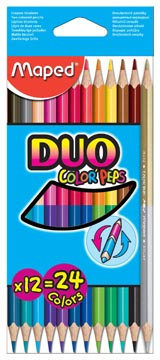 COLOR PEPS DUO MAPED 12X