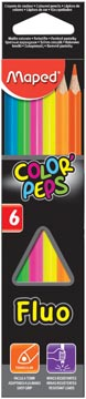 FLUO COLOR PEPS MAPED ETUI 6