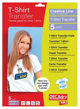 P.5 T-SHIRT TRANSFER WIT